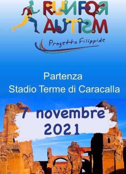 run for autism progetto filippide 2021